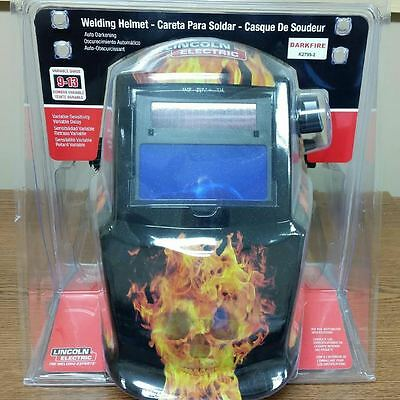 Lincoln K2799-1 Darkfire Welding Helmet With Gloves