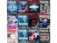 BBC Focus Magazines- 67 issues (Science and Technology Magazine)