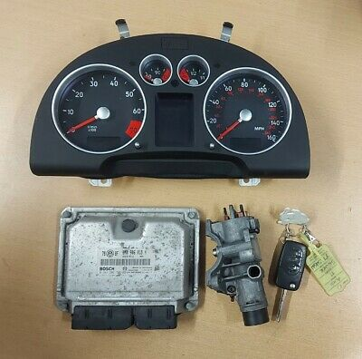 AUDI TT MK1 1.8T BAM ECU, SPEEDO CLOCKS KEY IGNITION BARREL 8N0906018H