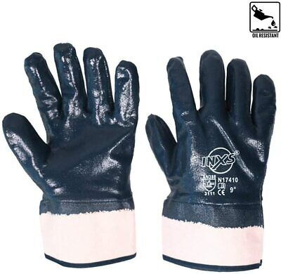 3pairs Welding Soldering Gloves Cut Resistant Safety Protective Nitrile Gloves