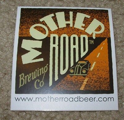 MOTHER ROAD BREWING CO Flagstaff Arizona STICKER decal craft beer brewery site - Craft Sites