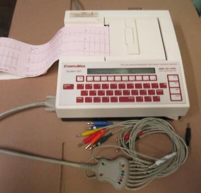 Compumed Mortara System 507 Eli 100 Cardiogram Ecgekg