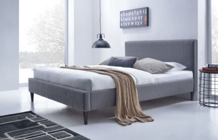 Hexy Queen Fabric Bed-Elegant,Stylish,Contemporary