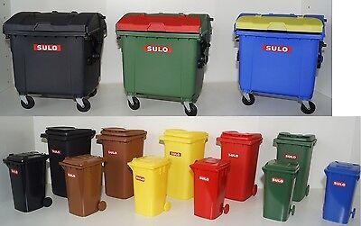 Mini SULO Mülltonne+Müllcontainer von Sulo-Original Dekoration, Büro