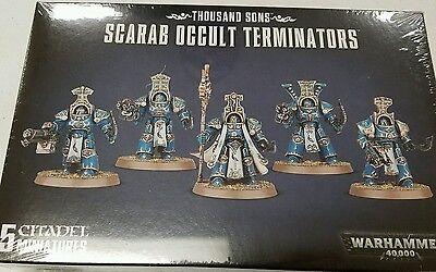 Warhammer 40K Horus Heresy Thousand Sons SCARAB OCCULT TERMINATORS