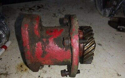 Farmall H Tractor Engine Distributor Drive Coupler Mag Drive Bolts Hv Early Sh