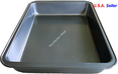 cake brownie pan inch non