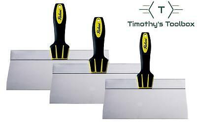 Richard Ergo-grip Stainless Steel Taping Knife Set 81012