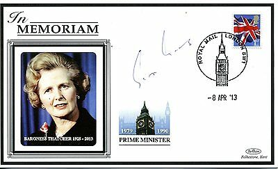 Politics cover In Memoriam Baroness Margaret Thatcher 2013 SIGNED Lord Young