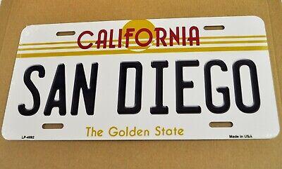 USA Auto Nummernschild License Plate Deko Blechschild California San Diego