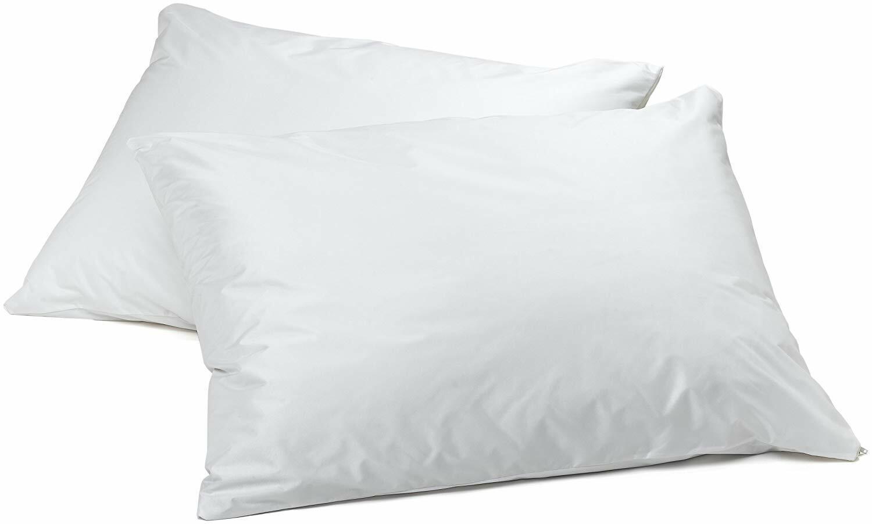 AllerEase Allergen Pillow Protectors Waterproof Zippered Sta