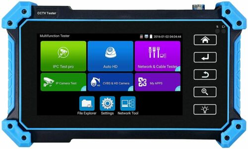 "5"" H.265 4K IP CCTV Tester Monitor CVBS AHD CVI TVI 8MP Cameras Tester POE WIFI"
