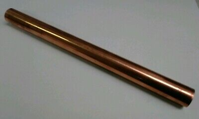 110 H04 Copper 1 Round Rod Stock 12 Long Lathe Machinist Tool New Solid Bar