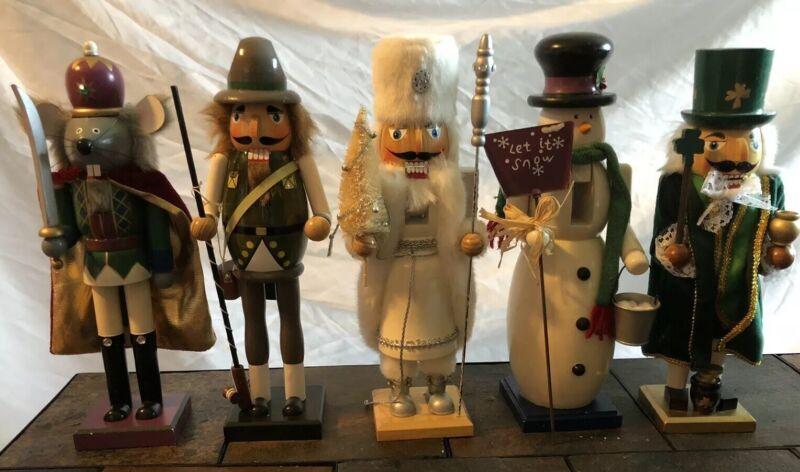12 Inch Tall Nut Cracker Figurines (Set Of 5)