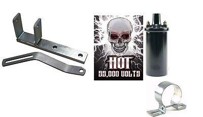 Alternator Bracket Kit W 12v Hot Coil Fits Ih Farmall 400 450 Tractor
