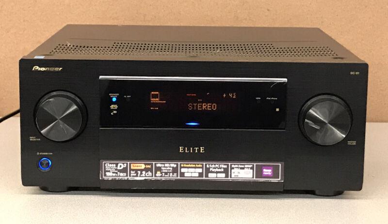 Pioneer Elite Receiver SC-81  * No Remote *   WORKING !