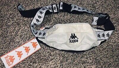 Kappa 222 Banda Anais Fanny Pack Size Small Beige, Grey Silver And Black