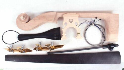 Upright Double bass Neck Fingerboard peg tailpiece bridge Endpin String Bass Kit