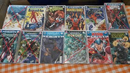 DC Rebirth and Marvel Comics (2015-present)