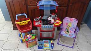 toys, kitchen set, Tinkerbell chair, shopping set.  Best offer Marangaroo Wanneroo Area Preview