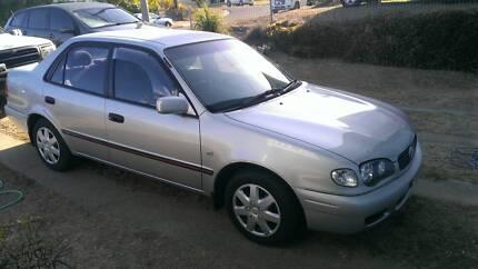 2001 Toyota Corolla Sun Valley Gladstone City Preview