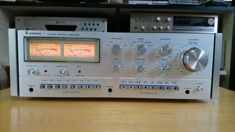 Sherwood Stereo Integrated Amplifier HP-1000