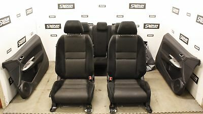 HONDA CIVIC TYPE S 06-15 BLACK  SUEDE + CLOTH SEATS + DOOR CARDS, OUR REF SK980