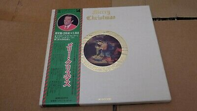 MERRY CHRISTMAS GIFT PACK JAPAN 2 LP BOX SET w/OBI+CALENDAR+BOOK andy williams