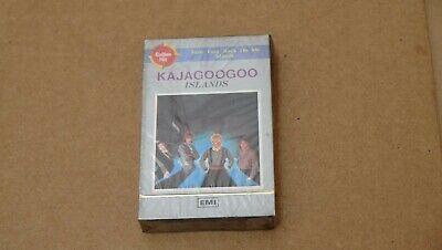 KAJAGOOGOO ISLANDS 1984 KOREA CASSETTES TAPE EMI OET-547 SEALED!