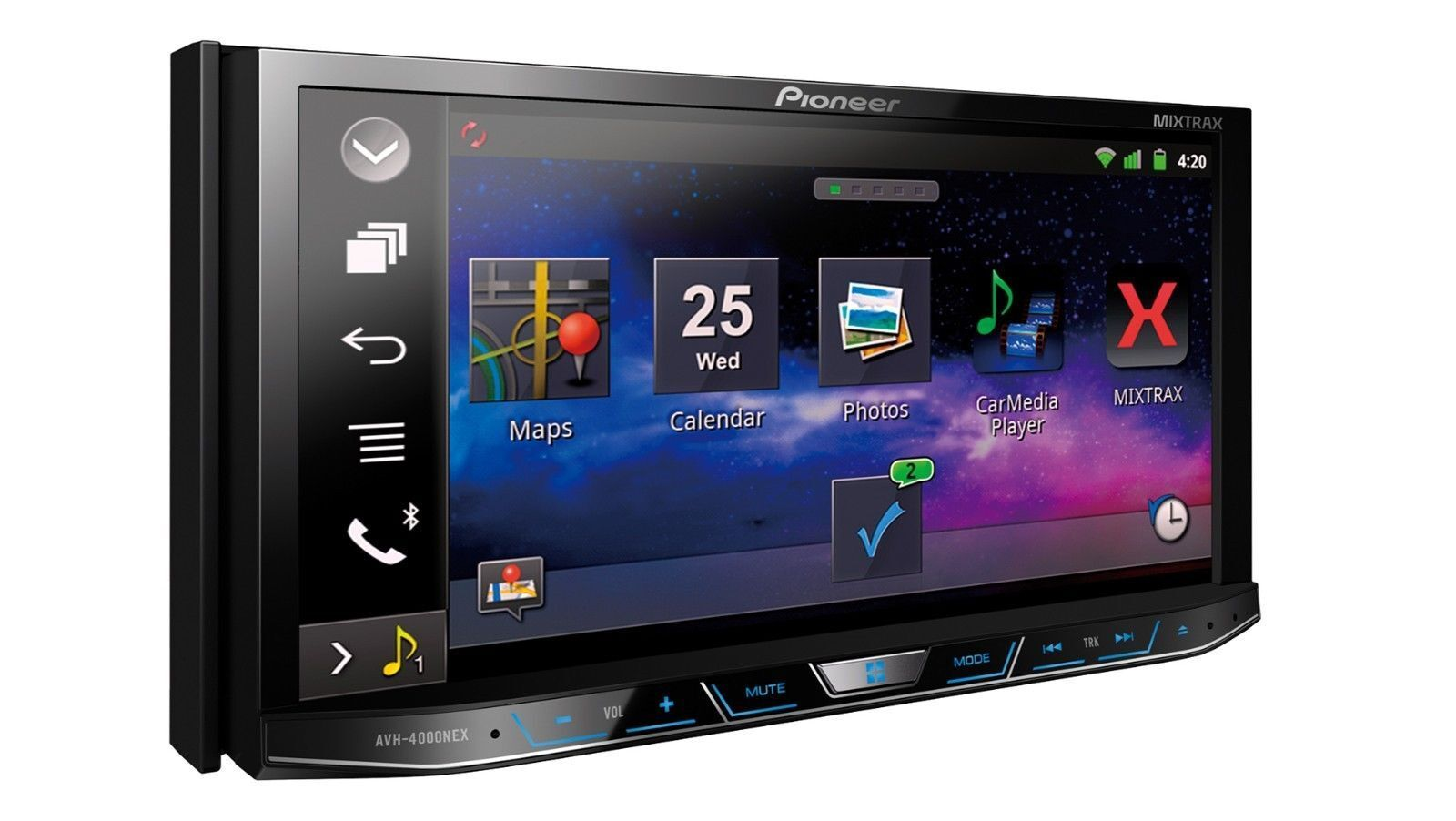 Top 10 touch screen car stereos 1 pioneer avh 4000nex pioneer avh 4000nex