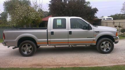 2002 Ford F250 XLT 86462kms One owner Gooseneck ball/hitch Gawler South Gawler Area Preview