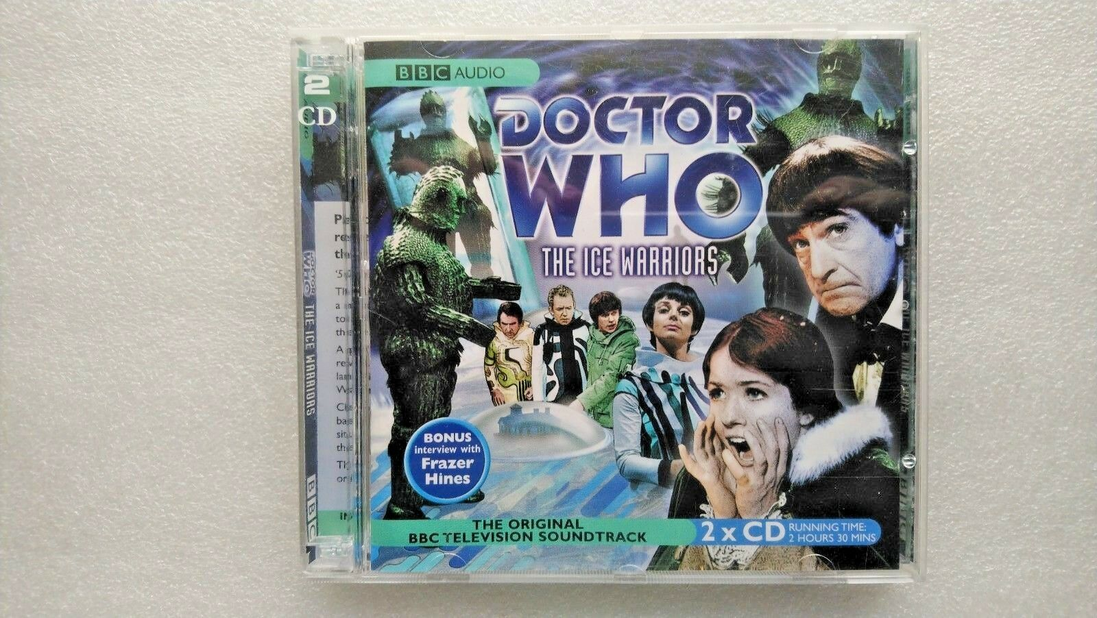 Doctor Who , the Ice Warriors  (CD-Audio, 2005) - Patrick Troughton