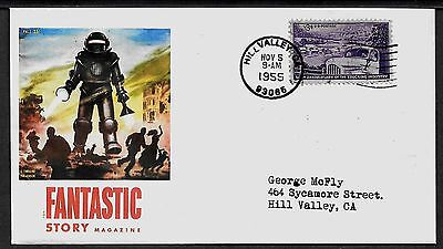 Back to the Future George McFly 1955 Featured On Collector's Envelope *A976