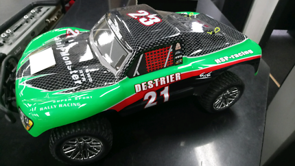 Hsp nitro rc car