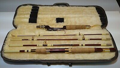 ST. CROIX MAGNA FLEX Fly Spinning Casting Fishing Rod Combo #7785 MF 7' 5pc 14kt