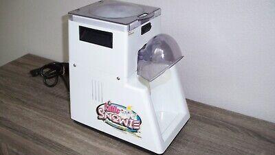 Little Snowie Snow Cone Machine Maker Shaved Ice Shvrlb Little Blizzard Slushie