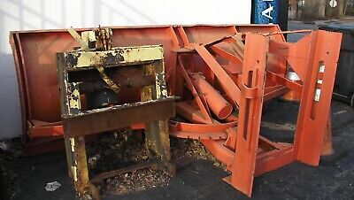 Gledhill Power Angle Snowplow Road Plow With Truck Frame - 10 Foot - In Nj