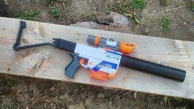 Blaster3D Semi-Auto Sniper Kit (PE+) Black (Fortnite Inspired) for Nerf Modulus ()