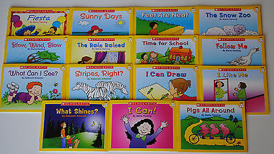 15 book lot Level A Easy Leveled Readers Homeschool Preschool Kindergarten Kids