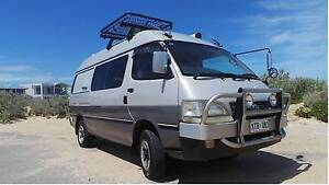 Toyota Hiace 3L Turbo Disel 4WD Campervan Middleton Alexandrina Area Preview