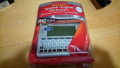 Franklin Speaking Spanish English Dictionary Handheld Talking Bes 1890