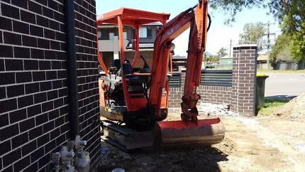 Excavator hire Sydney West Sydney Region Preview