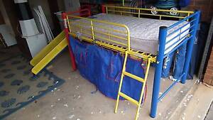 Kids , childen fun single bed with slide Greenwith Tea Tree Gully Area Preview