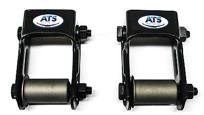 S10 Leaf Springs - ATS Springs Chevy/GMC S10 Leaf Spring Shackle Kit (Replaces 722-028)