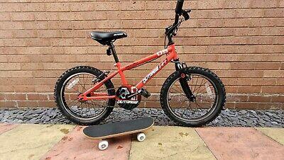 "Halfords Apollo Outrage Kids Bike - 18"" Wheel + Training Skateboard (Tamworth)"
