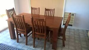 7 Piece Solid Wood Dining Suite Cygnet Huon Valley Preview