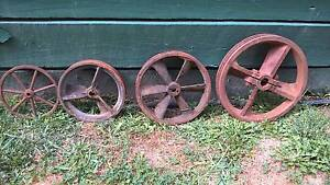 Metal VINTAGE WHEELS, the lot for $100 Croydon North Maroondah Area Preview
