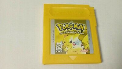 GAMEBOY POKEMON YELLOW (SAVES) AUTHENTIC NINTENDO