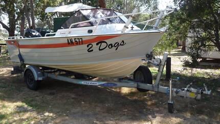 Savage Lancer 5.3m Aluminum Boat