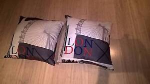 NEW 2 Designer Cushions London Design Unwanted gifts Springfield Ipswich City Preview